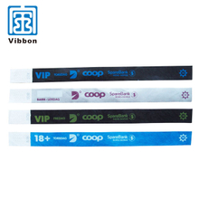 printable tyvek wristband for exhibition events