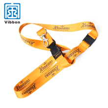 custom logo professional sublimation printing lanyard for conference
