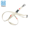 Flat polyester cheap personalize single custom sublimation lanyard