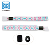 Fashion Design Custom Made Festival Fabric Wristbands