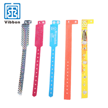 China supplier Quality-assured Custom design Security plastic wristband